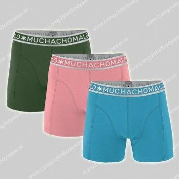 MuchachoMalo Nederland 3-Pack Short Solid 258