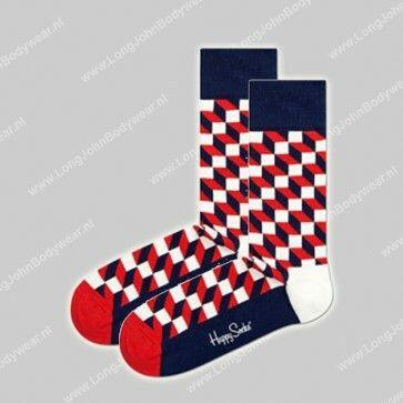 Happy Socks Nederland Filled Optic Socks