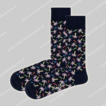 Happy Socks Nederland Confetti Palm Socks