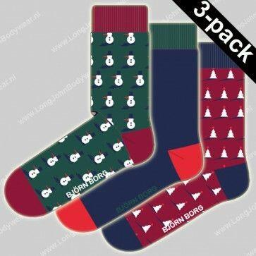 Bjorn Borg Nederland Socks 3-pack X-Mas