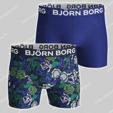 Bjorn Borg Basic 2-Pack Short Strong Flower