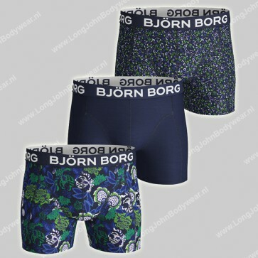 Bjorn Borg Nederland 3-Pack Short Strong Flower