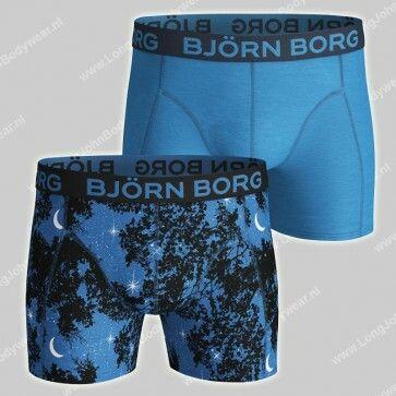 Bjorn Borg Basic 2-Pack Short Under the Stars