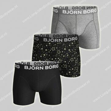 Bjorn Borg Nederland 3-Pack Short Graphic Star