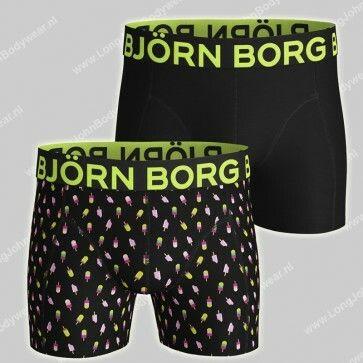 Bjorn Borg Basic 2-Pack Short Gelato