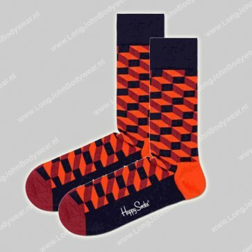 Happy Socks Nederland Filled Optic Square