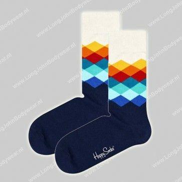 Happy Socks Nederland Faded Diamond