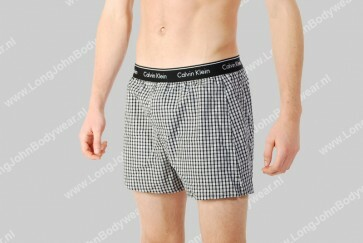 Calvin Klein Woven Boxer Traditional-Fit
