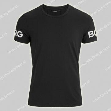 Bjorn Borg Nederland T-Shirt Sports Black Beauty