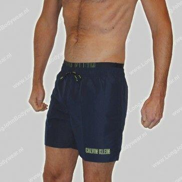 Calvin Klein Nederland Swim Short Medium Double Waistb