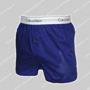 Calvin Klein Nederland Woven Boxer Slim-Fit