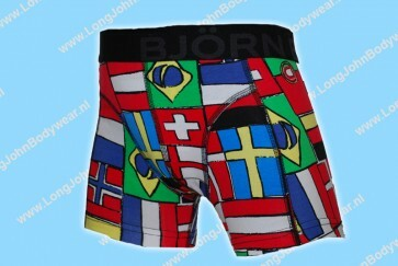 Bjorn Borg Kids Short Nations Flags