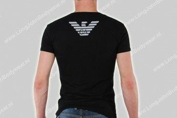 Armani Nederland Basic V-Shirt Eagle