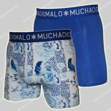 MuchachoMalo Nederland 2-Pack Short Delft Blue