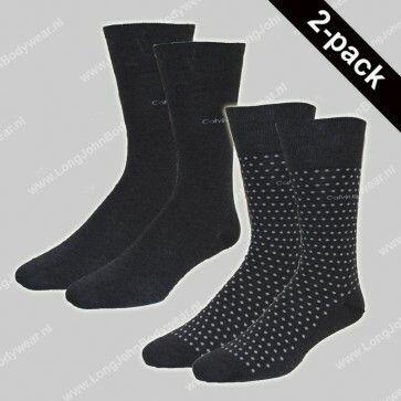 Calvin Klein Nederland Socks 2-Pack Dots