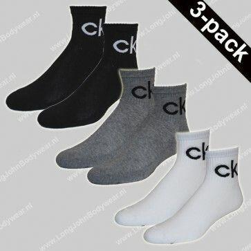 Calvin Klein Nederland Short-Socks 3-Pack CK