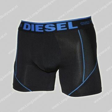 Diesel Nederland Boxer 55-D Microfiber Long Trunks