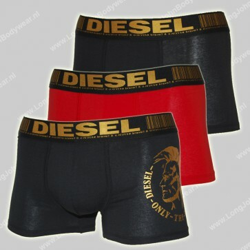 Diesel Nederland Damien 3-Pack Short Gold