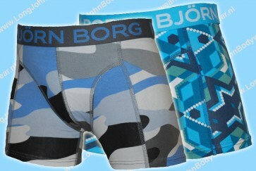 Bjorn Borg Nederland Kids 2-Pack Short Winter Camo