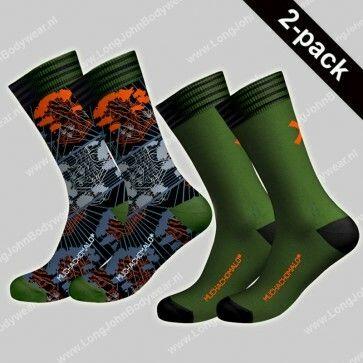 MuchaMalo Nederland 2-pack Socks Back to Basic