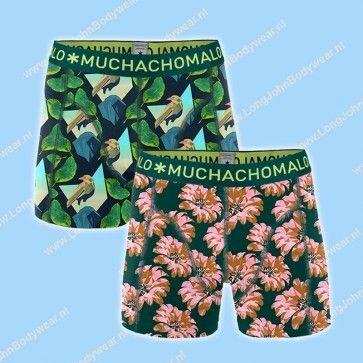 MuchachoMalo Kids Nederland Short 2-Pack Digital Nature