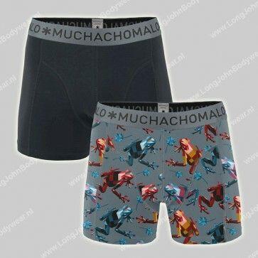 MuchachoMalo Nederland 2-Pack Short Cotton-Modal Frog