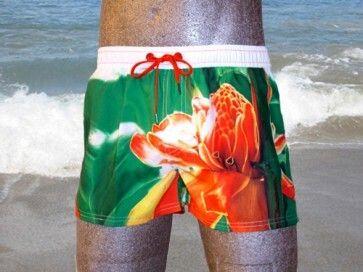 Diesel Swim Coralrif Flower Short-Short