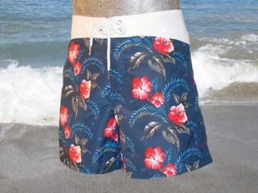 Bikkembergs Swim Flower Short Surf-Short