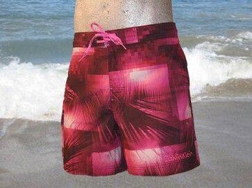 Calvin Klein Swim Palm Short