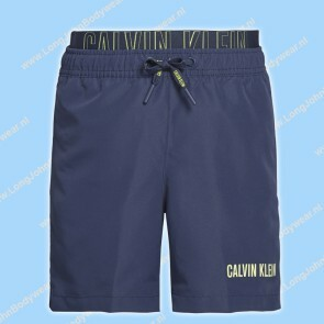 Calvin Klein Nederland Kids Swim Medium-Short Double Waistband