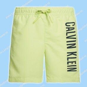 Calvin Klein Nederland Kids Swim Medium-Short Drawstring Logo