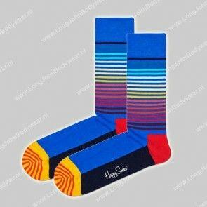 Happy Socks Nederland Half Stripe Socks