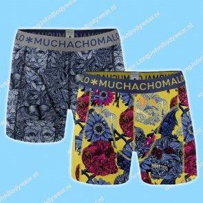 MuchachoMalo Kids Nederland Short 2-Pack Leaf
