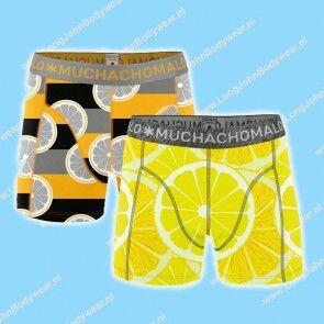 MuchachoMalo Kids Nederland Short 2-Pack Lemons