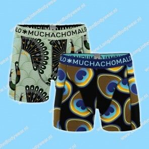 MuchachoMalo Kids Nederland Short 2-Pack Proud as a Peacock