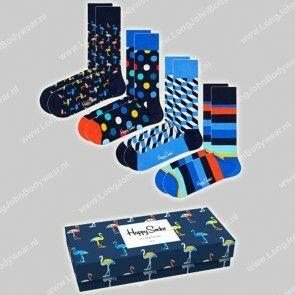 Happy Socks Nederland Navy GiftBox