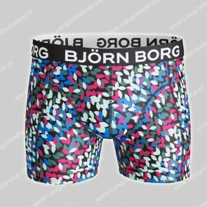 Bjorn Borg Nederland-Short Microfiber Light-Weight Leaf