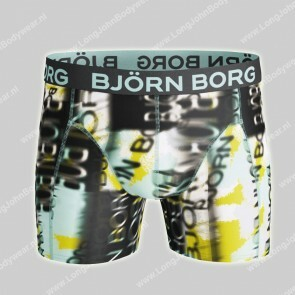 Bjorn Borg Nederland Short Microfiber Light-Weight Blurred Logo
