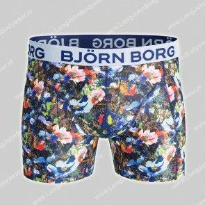 Bjorn Borg Nederland-Short Microfiber Light-Weight Funky Flowers