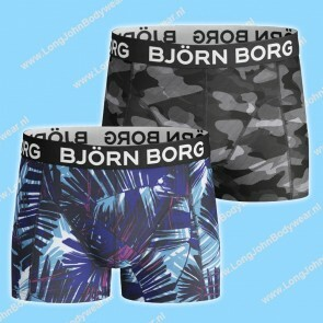 Bjorn Borg Nederland Kids Short 2-Pack Summer Palm