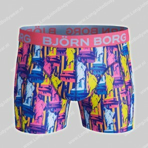 Bjorn Borg Nederland-Short Microfiber Light-Weight Statue of Liberty