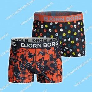 Bjorn Borg Nederland Kids Short 2-Pack NY Shade & Tennisball