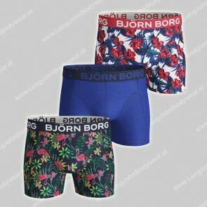 Bjorn Borg Nederland 3-Pack Short Exotic