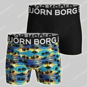 Bjorn Borg Basic 2-Pack Short Sunset Palms