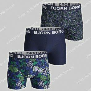 Bjorn Borg Nederland 3-Pack Short Strong Flower