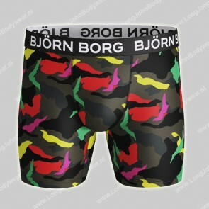 Bjorn Borg Nederland Performance High Function Athletic Fit Neon Camo