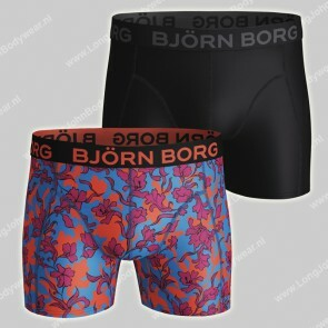 Bjorn Borg Nederland 2-pack Short Microfiber Light-Weight Vintage Flower