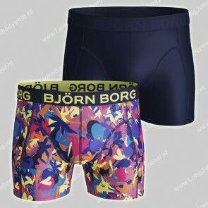 Bjorn Borg Nederland 2-pack Short Microfiber Light-Weight Multi Flower