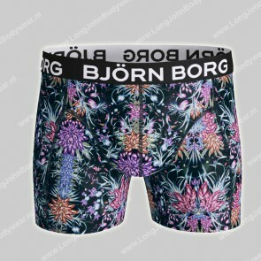 Bjorn Borg Nederland-Short Sammy Microfiber Light-Weight Magic Botanic