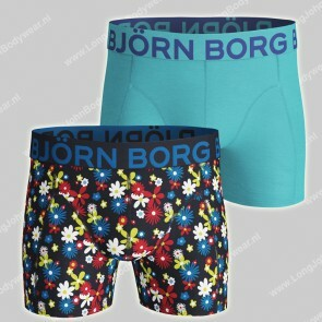 Bjorn Borg Basic 2-Pack Short Retro Flower